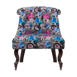 Кресло Amelie French Country Chair Бабочки