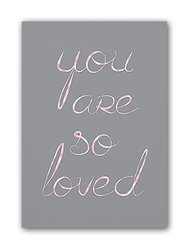 Постер You are so loved А4